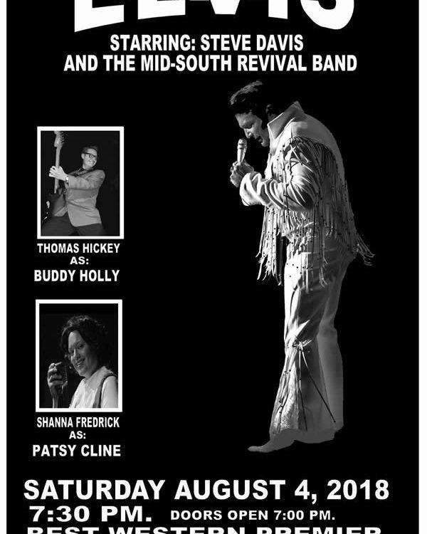 Elvis, Steve Davis, live music