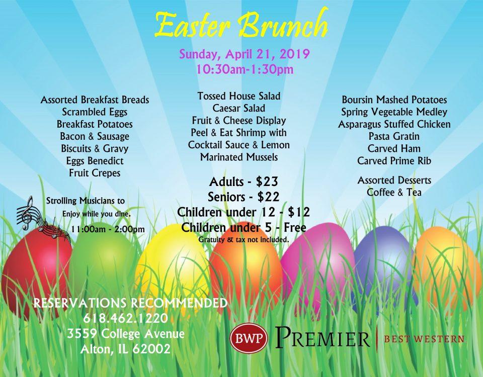 Easter Brunch, Easter Brunch in Alton IL, Easter Dining, Alton IL, Easter Events
