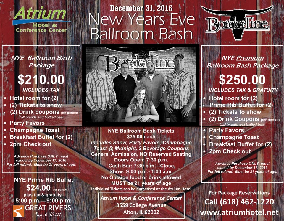 New Year's Eve in Alton IL NYE 2016