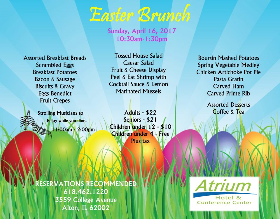 Easter Brunch Buffet 2017