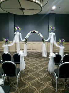 wedding ceremony in alton il, wedding reception, wedding, banquet hall, event space