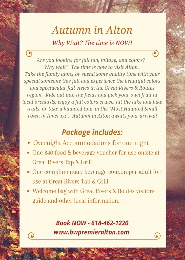 Autumn Package, Fall things to do